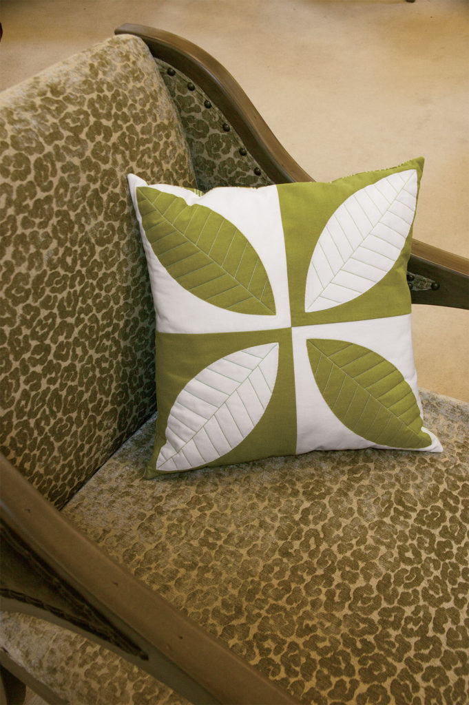 Green Tea was published in Quilters Newsletter's Best Modern Quilts 2014.*