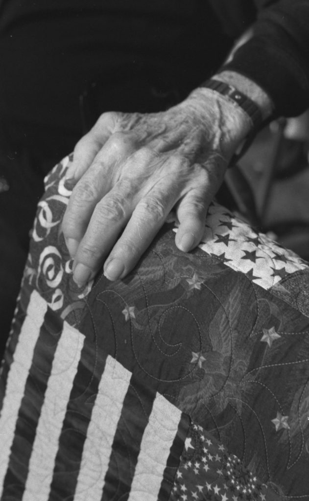 Quilts of Valor Photo Essay: I needed inspiration, and it came just in time.