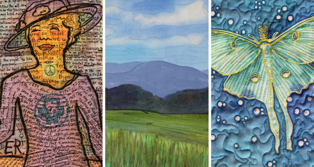 Projects featured in the 2201 episode of Quilting Arts TV