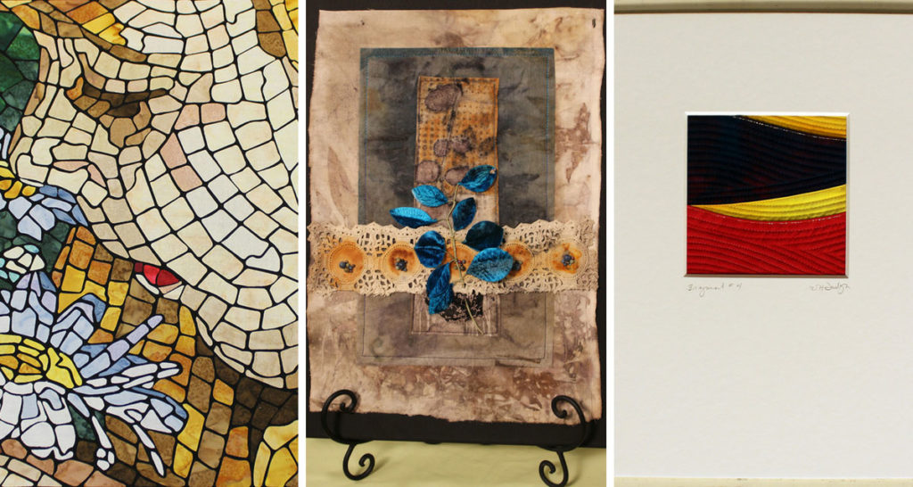 Projects featured in episode 2204 of Quilting Arts TV