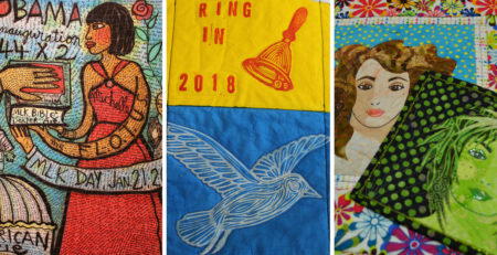 Projects featured in episode 2207 of Quilting Arts TV
