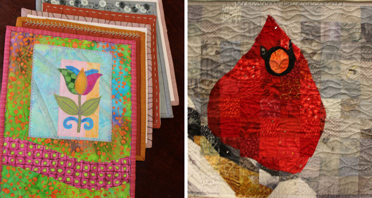 Projects featured in episode 2208 of Quilting Arts TV