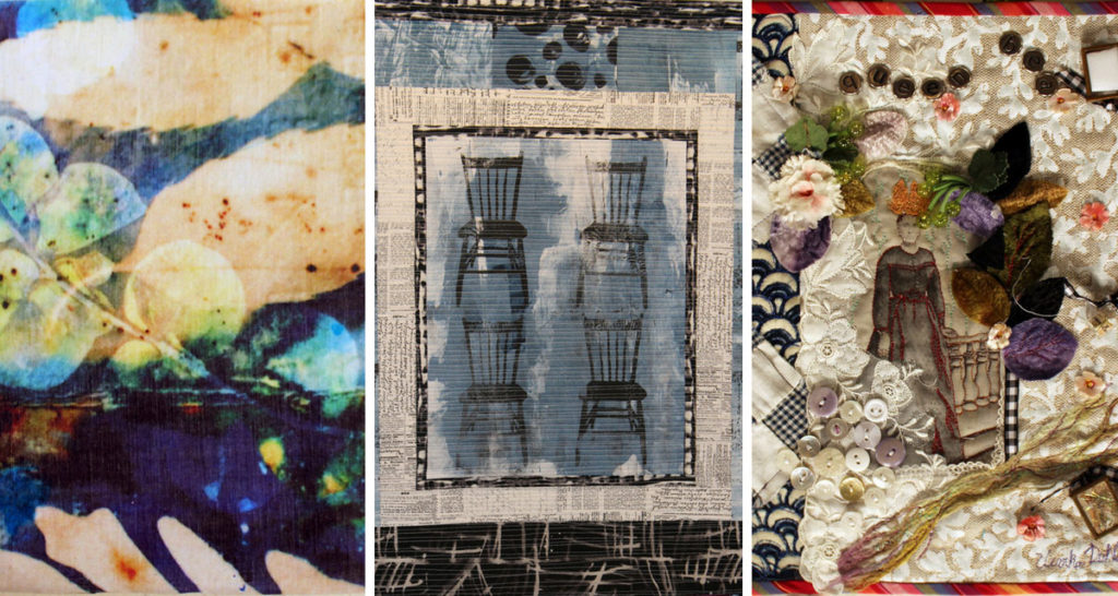 Projects featured in episode 2210 of Quilting Arts TV