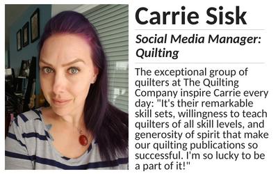 Carrie Sisk: Social Media Manager