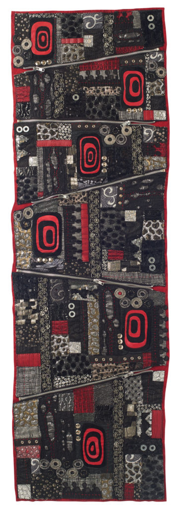 Embellish your art quilts with metal. Learn how from Jamie Fingal.