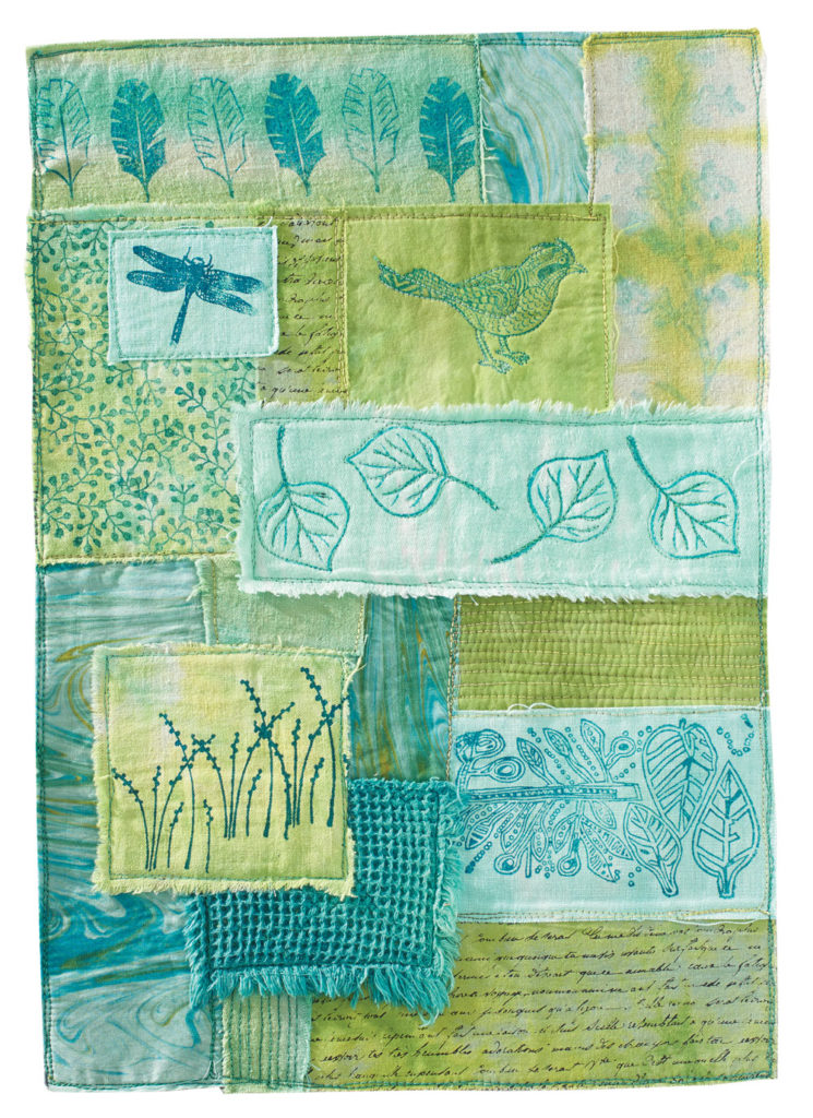 Printed Collage Story by Liz Kettle