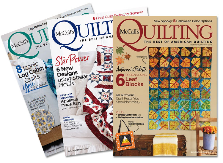 McCall's Quilting Magazine Subscription