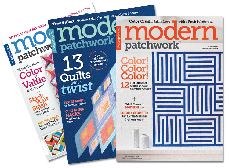 Modern Patchwork Magazine Subscription