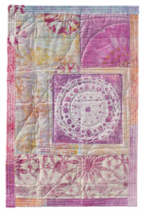 Example of layered printing by Rebekah Meier