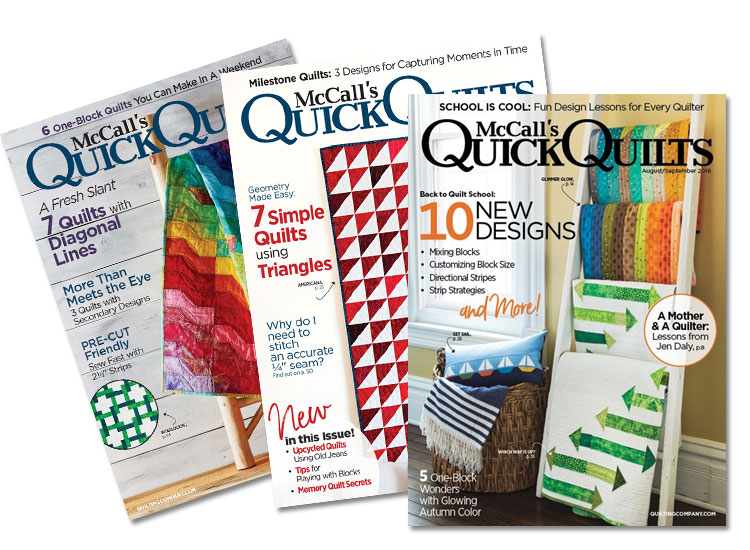McCall's Quick Quilts Magazine Subscription
