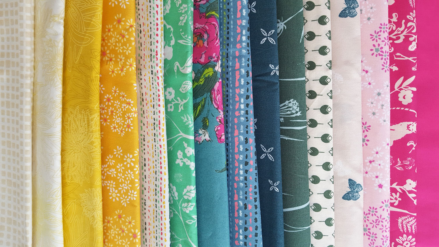 Quilting Fabrics for Two Cute