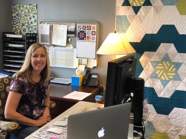 Denise Stark, Art Director, Quiltmaker, McCall's Quilting & McCall's Quilting Quick Quilts