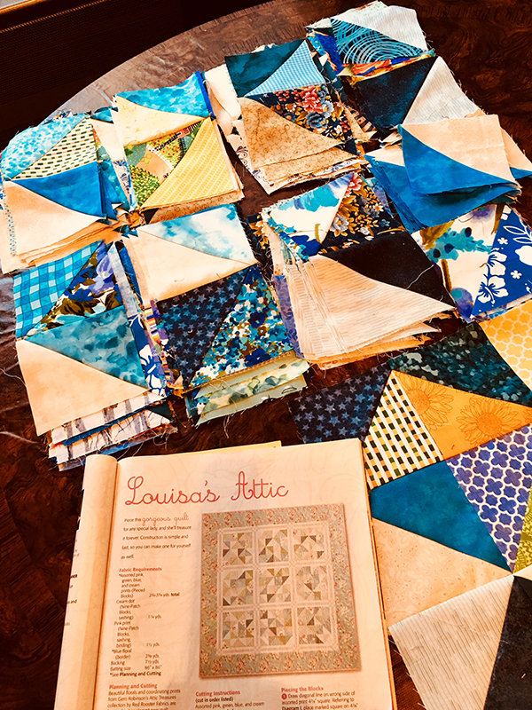 Sewing the Triangles Together
