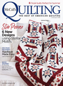 McCall's Quilting July/August 2018