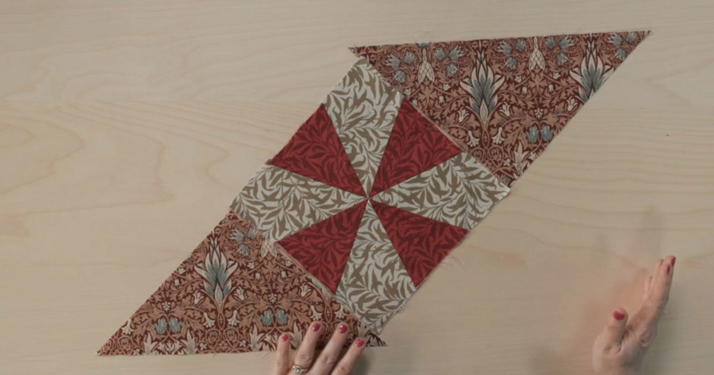 Quilt Block Featured in episode 3 of the Morris Star Block of the Month project