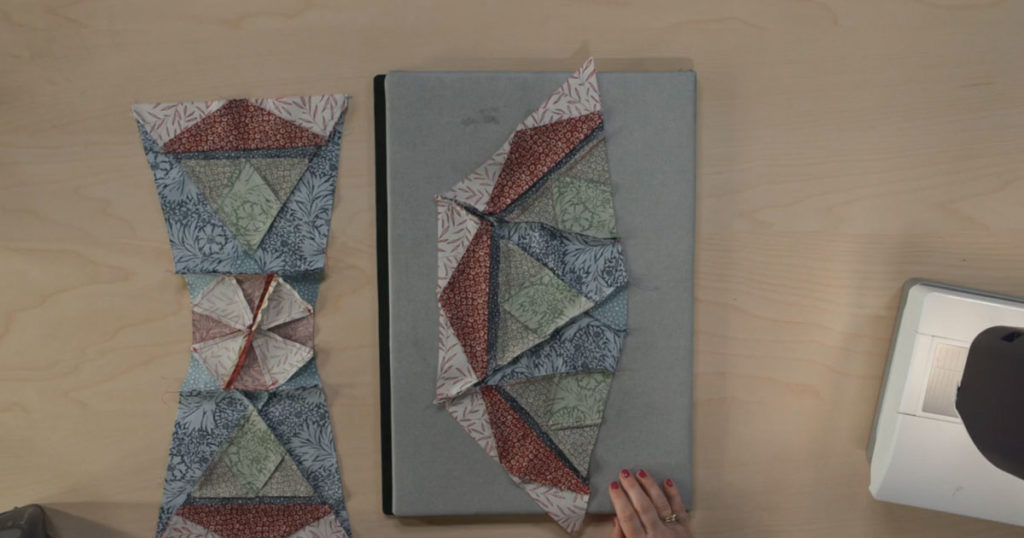 Part 3 of episode 4 of the Morris Star block of the month how to video series