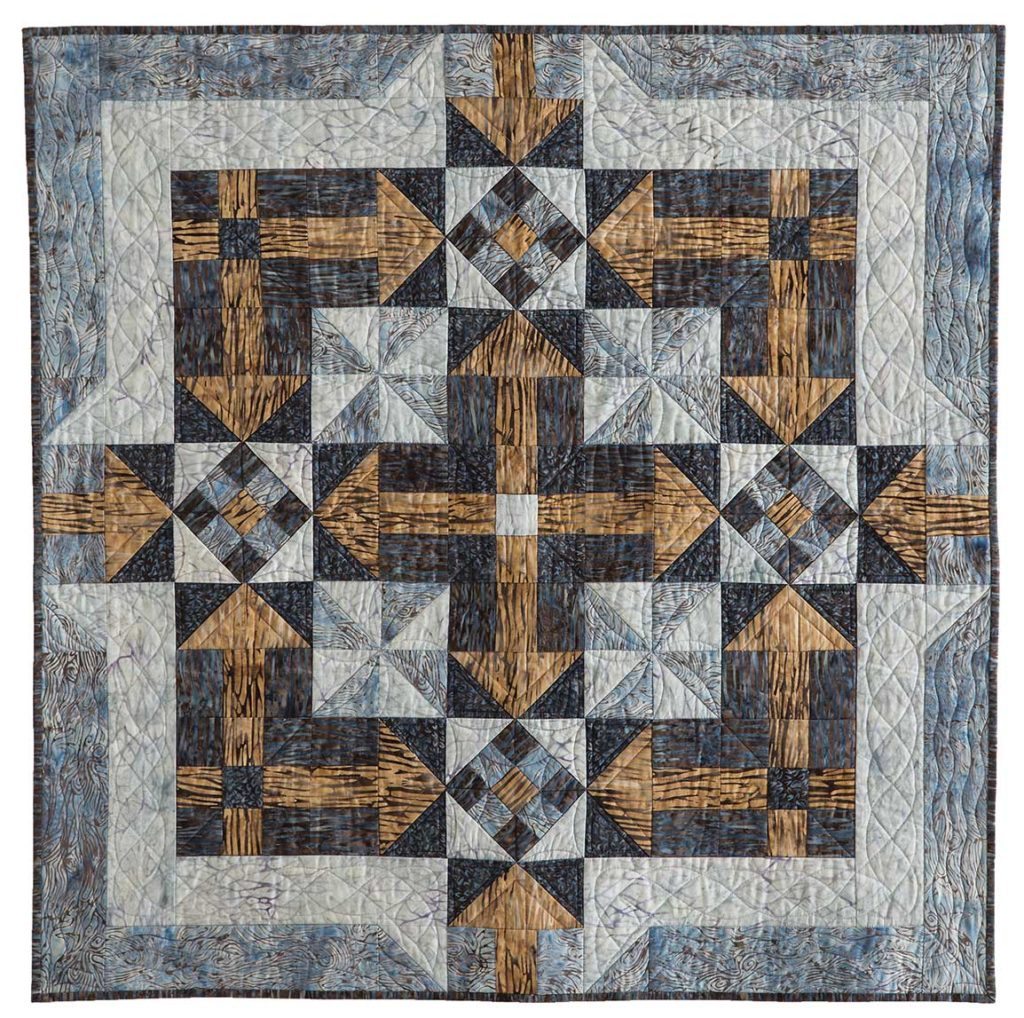 Archipelago, Designed by Connie Kauffman, McCall's Quick Quilts, August/September 2018