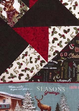 McCall's Quick Quilts December/January 2019 Rocky Mountain Hideaway