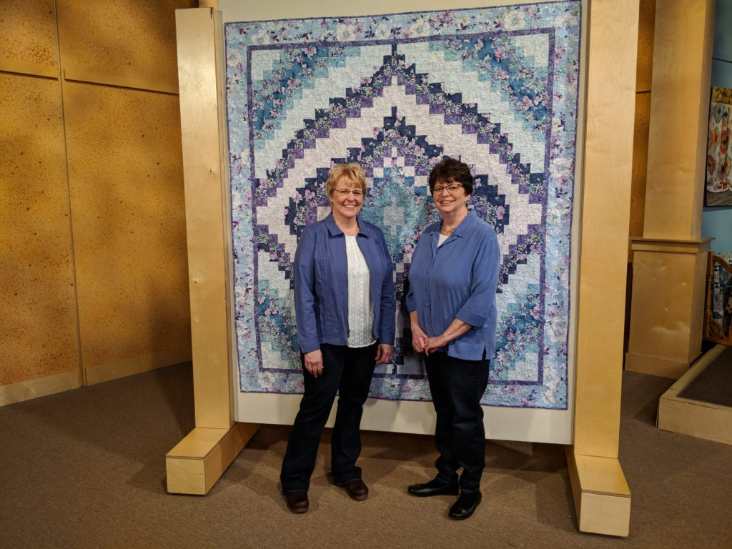Sue Harvey and Sandy Boobar teach you how to make a Bargello quilt using strip sets!