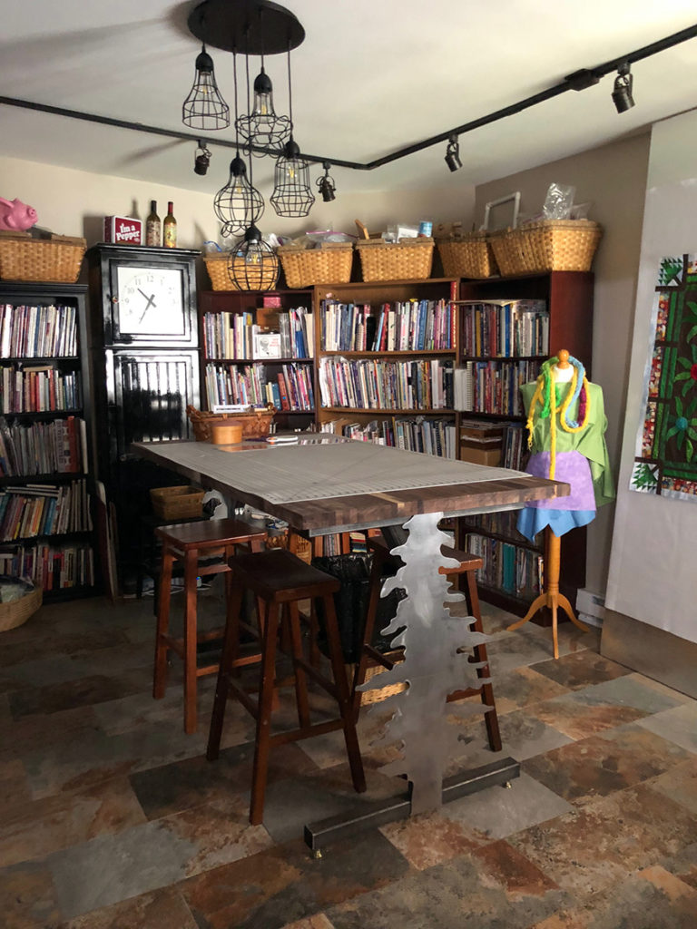 Tricia's Quilting Workspace