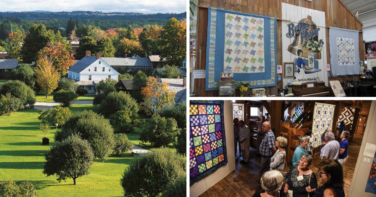 Fall Foliage, Quilts and More: Part 1
