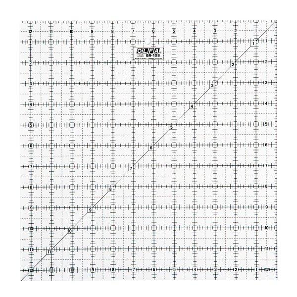 "12½"" Square Ruler"