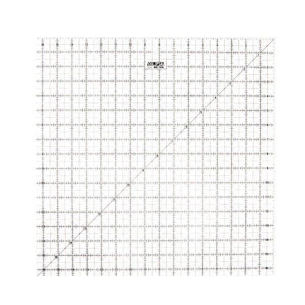 "16½"" Square Ruler"