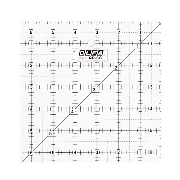 "6½"" Square Ruler"