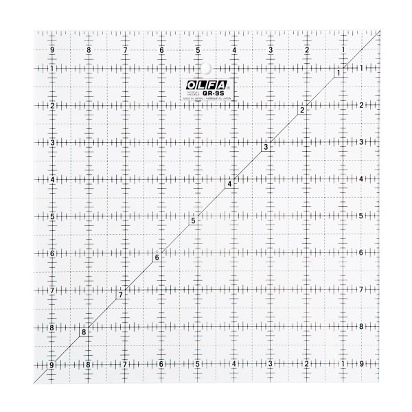 "9½"" Square Ruler"