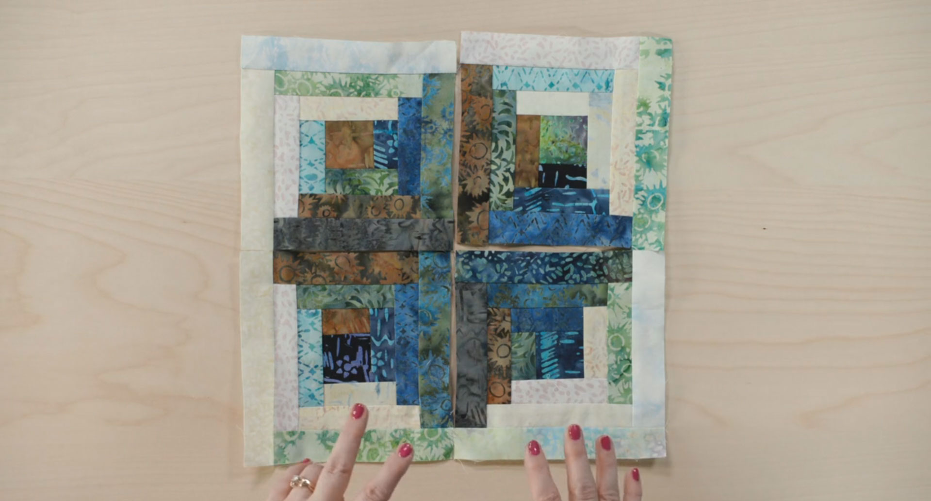 Primitive Lines Block of the Month: Month 4 tutorial