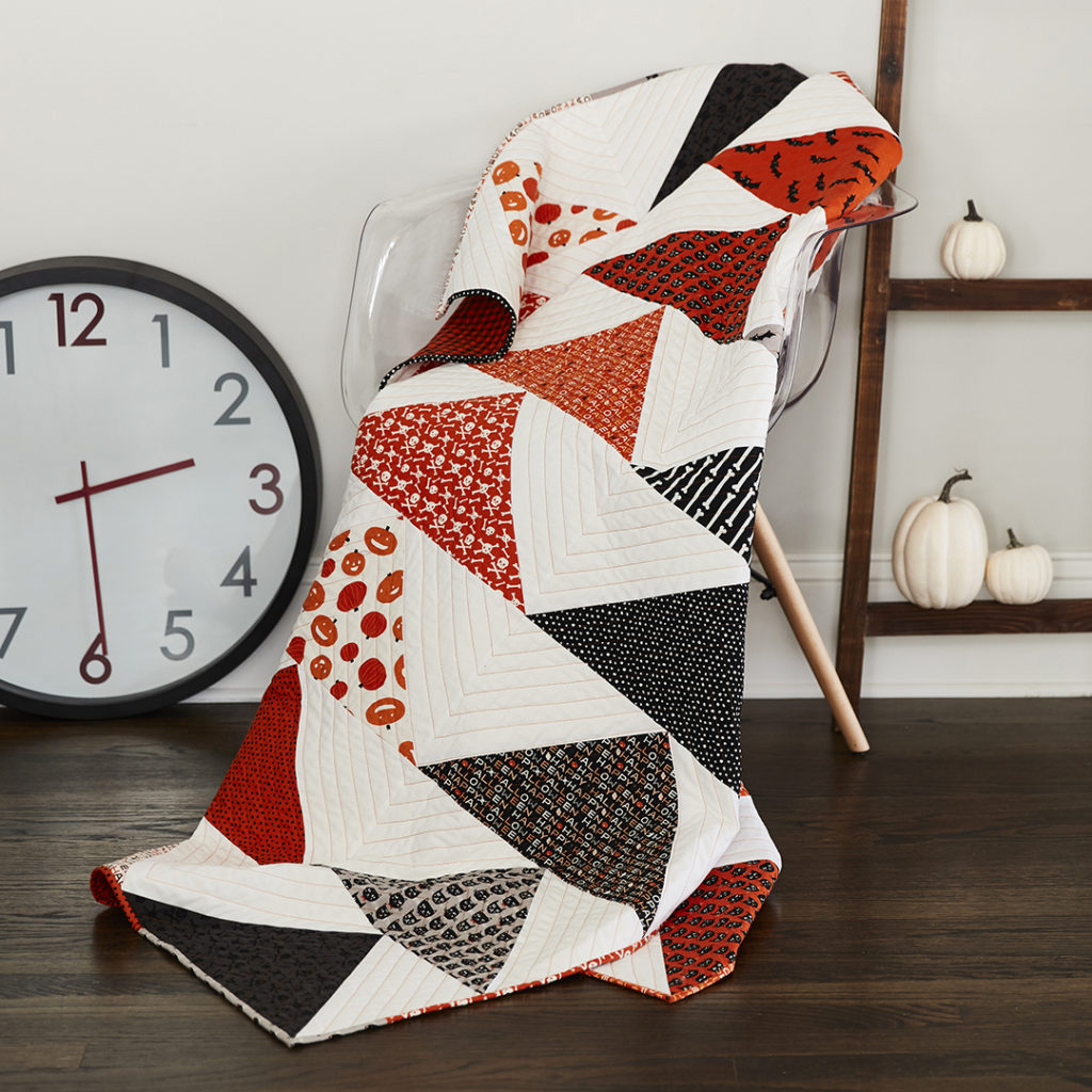 Spooked Geese a quilt pattern by Laura Piland