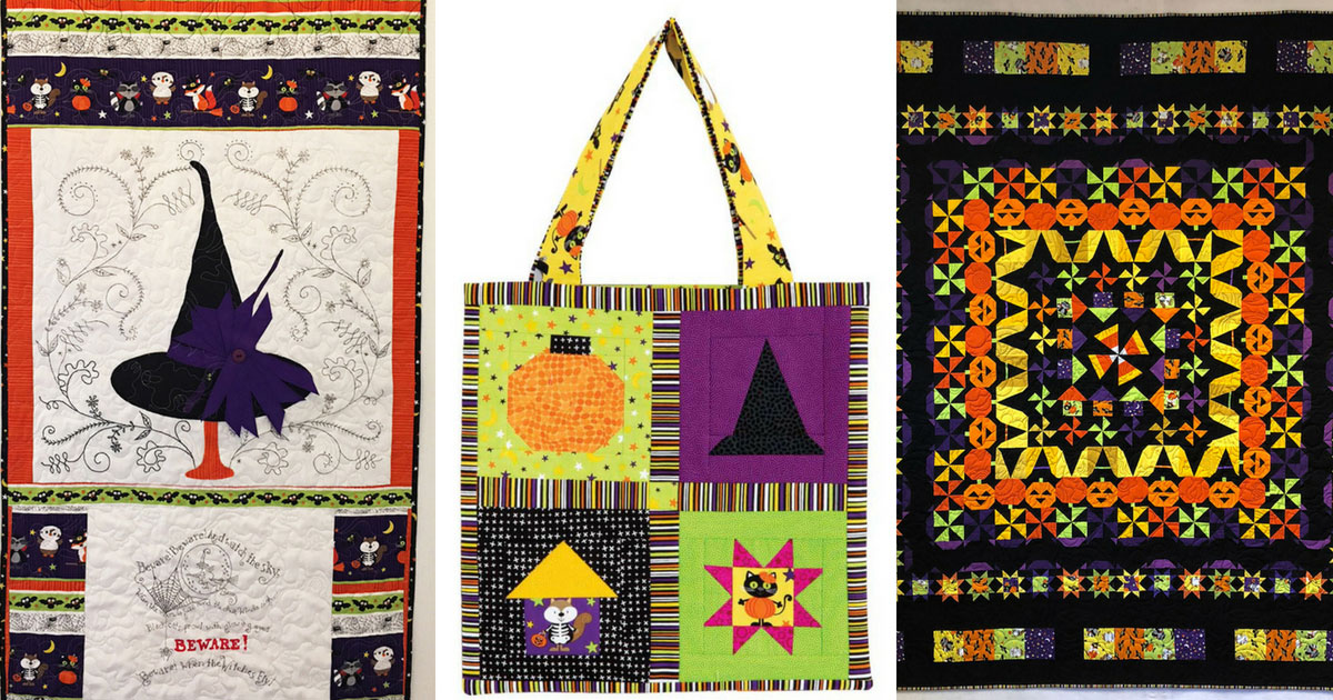 The three Bitty Boo Quilts featured in this blog post
