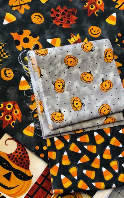 Too Cute to Spook collection from Blank Quilting