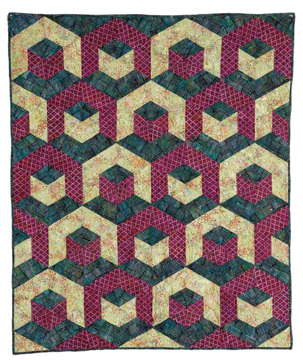 Jewel Mine by Kymberly Pease from McCall's Quick Quilts October/November 2018