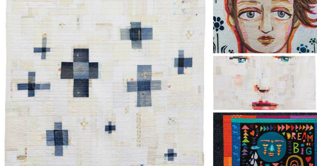 Art quilts by Melissa Averinos