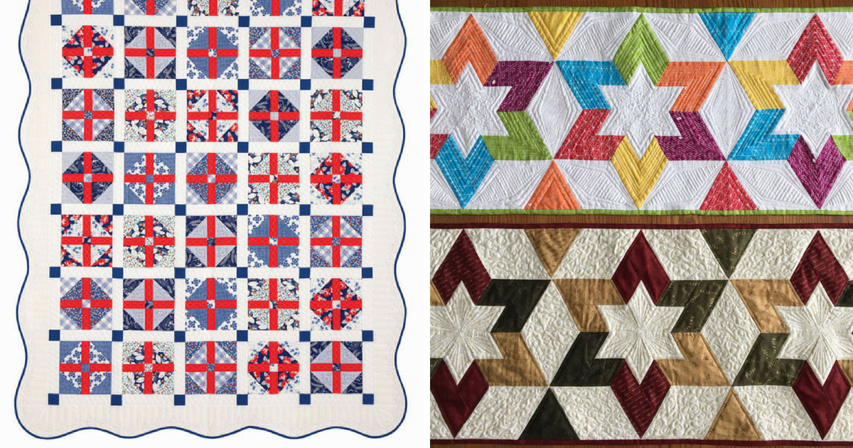 Quilts participants will be making at our 2018 quilt retreat.
