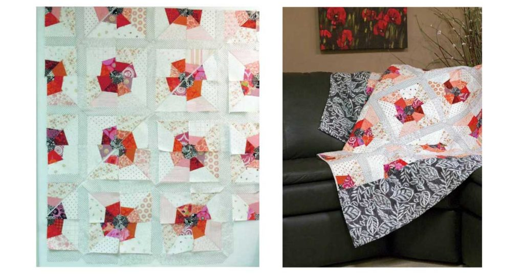 scrap-quilt-strategies-daddys-poppies
