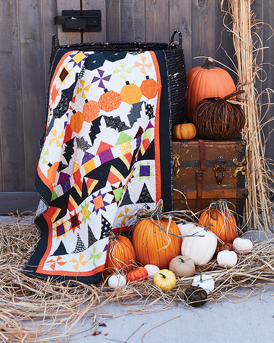 Halloween quilts are here! Treat your friends to a patchwork exchange with Bitty Boo!
