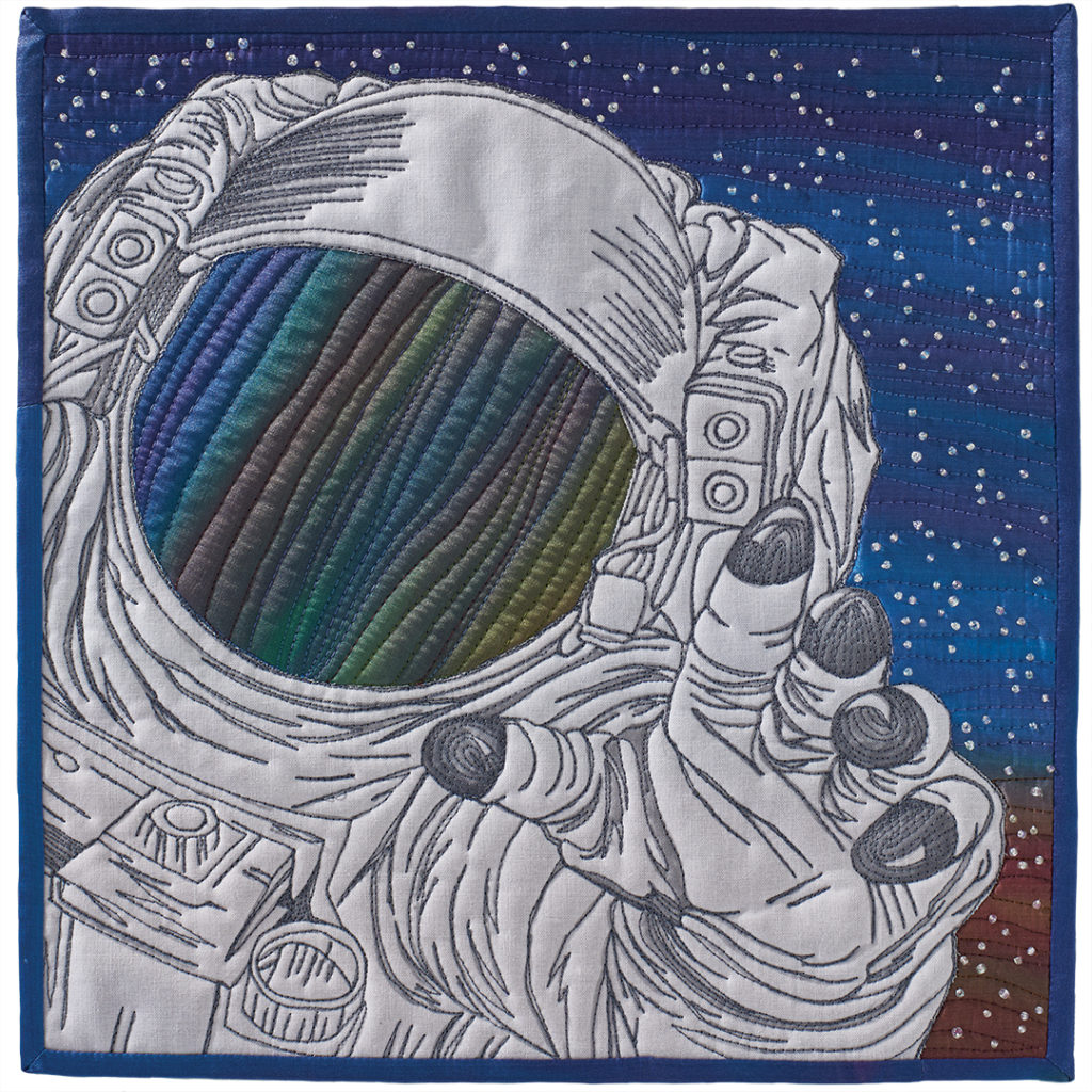 """Space Walking"" by Tonya Littmann"