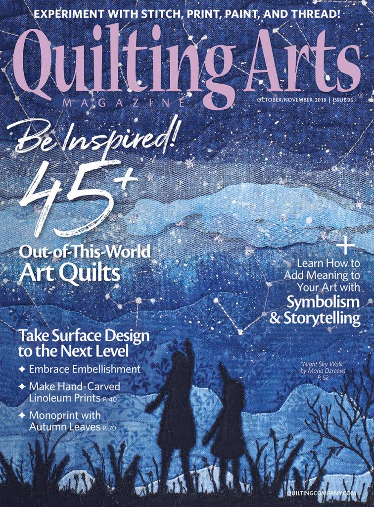 Quilting Arts October/November 2018