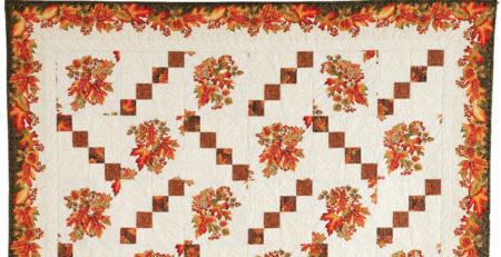 Leaf Scatter Quilt