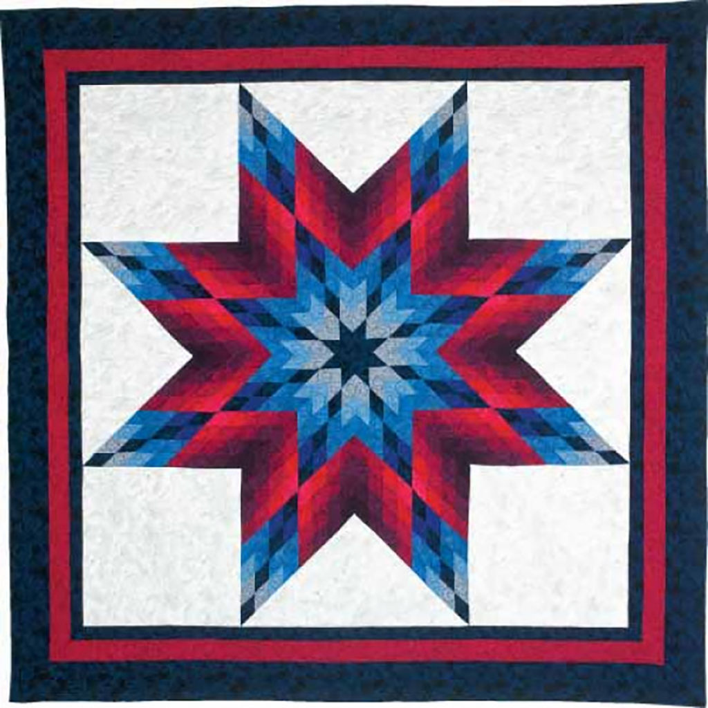 Lone Star Salute, Designed by Jinny Beyer, McCall's Quilting May/June 2012
