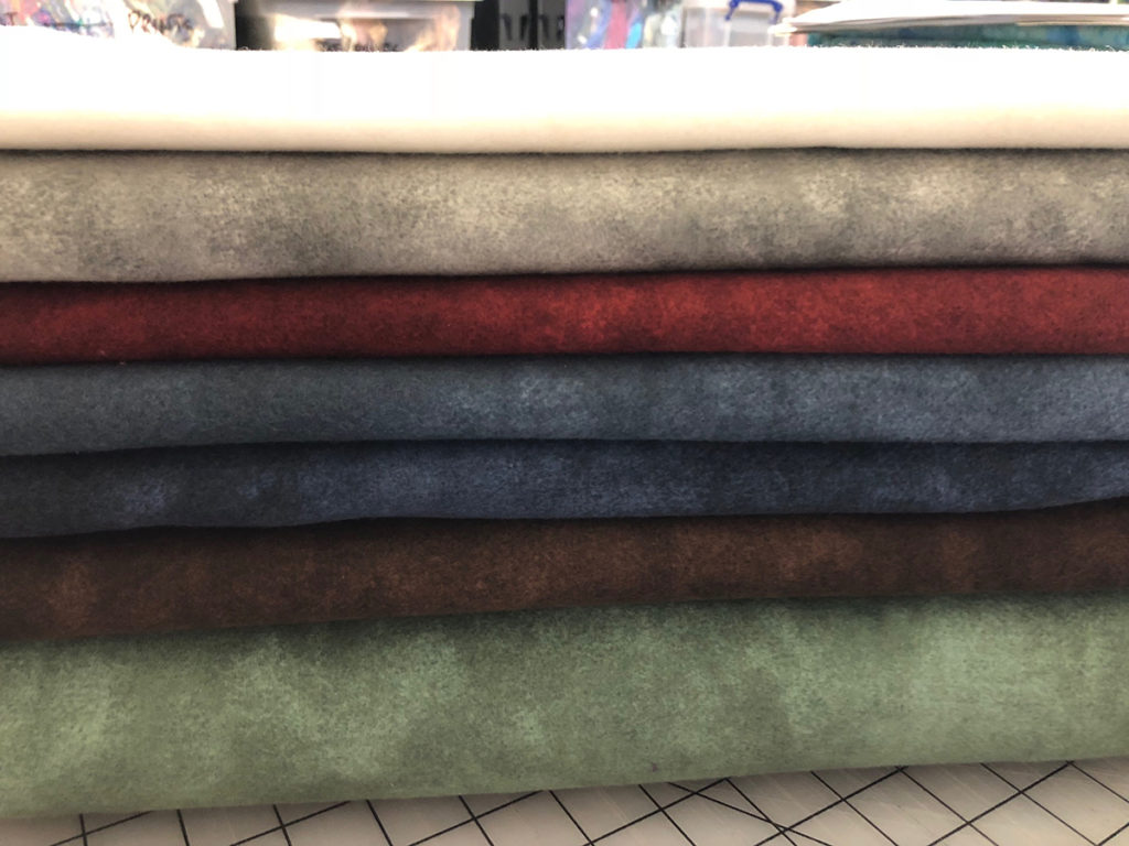 Color Wash Woolies Flannels, flannel fabric for quilting by Maywood Studio