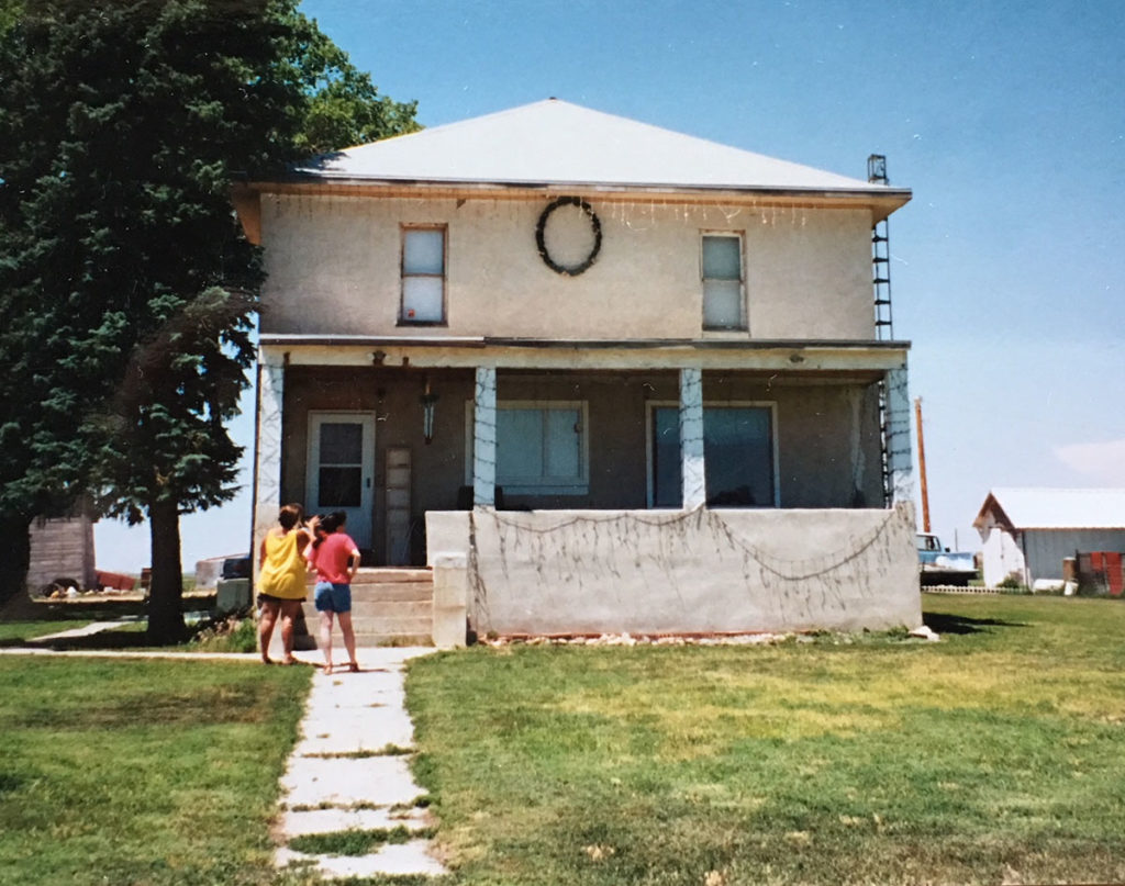 Lori's Childhood Home – photo from 2001
