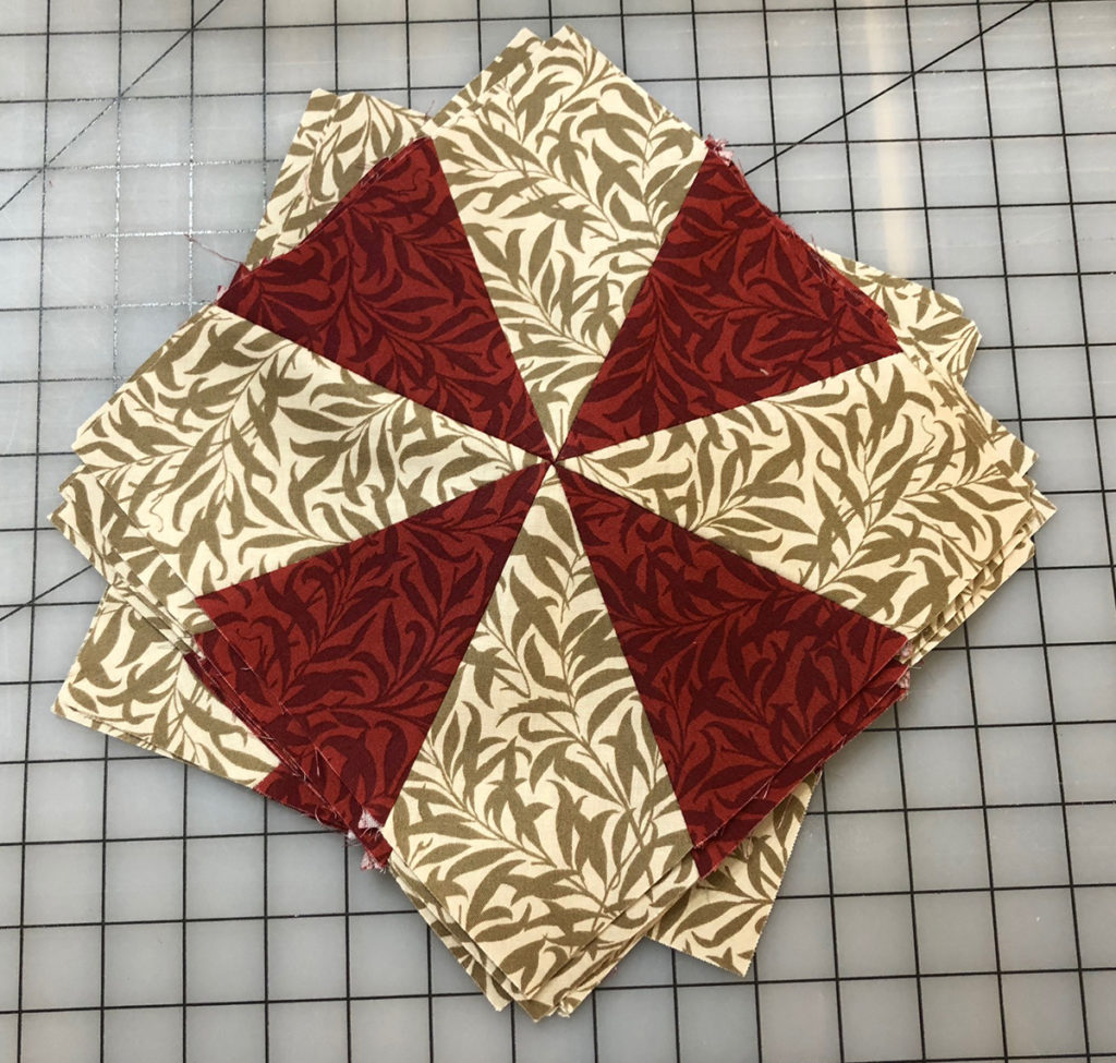Block of the Month 1, Merton Willow Boughs