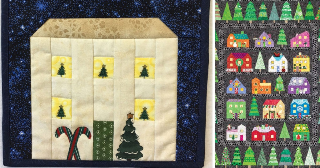 Free Christmas Quilt Block