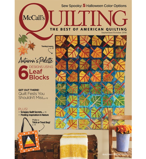 McCall's Quilting September/October 2018