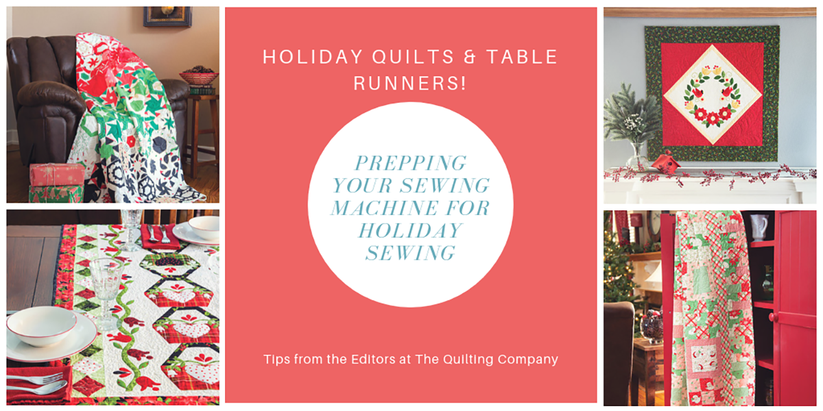 Prepping for Holiday Sewing & Holiday Table Runners!