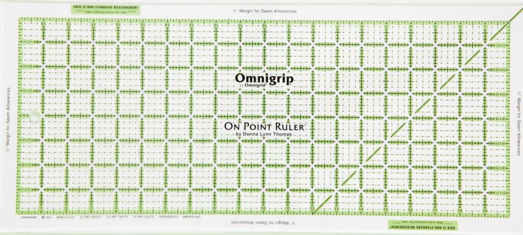 The On Point Ruler by Omnigrid