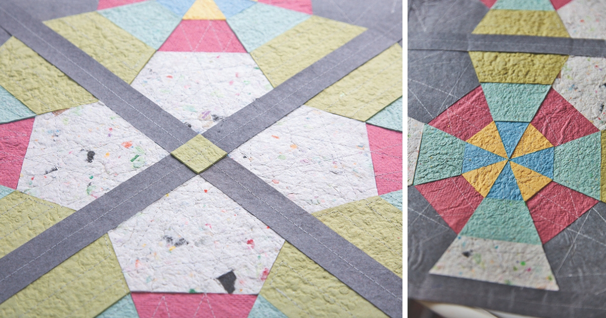 A Material Difference: Paper Quilts